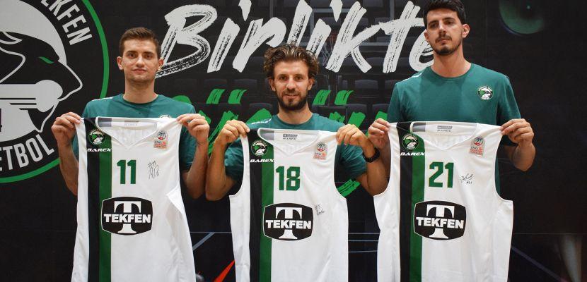 Darüşşafaka 3 yerli oyuncusuyla sözleşme yenilediğini duyurdu