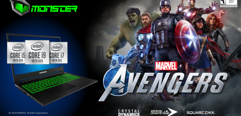 ​Monster Notebook'tan Marvel's Avengers sürprizi