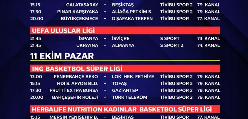 Galatasaray-Beşiktaş Derbisi Tivibu'da