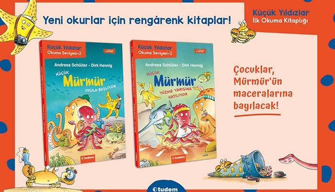 Küçük Mürmür çocukların artık okuma arkadaşı oluyor