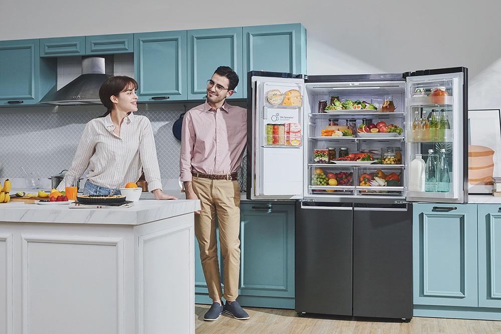 LG Mutfaklarda Şıklık ve Uzun Süre Tazelik Sunan Ürününü Tanıttı