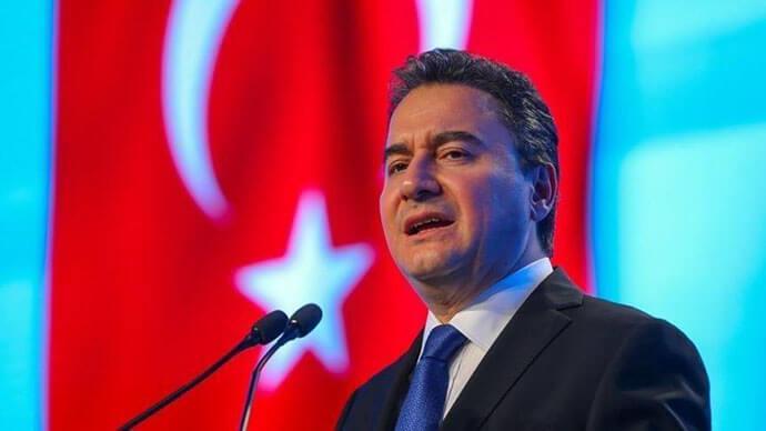 """Ali Babacan """"Mevcut kötü durumun sorumlusu Cumhurbaşkanıdır"""""""