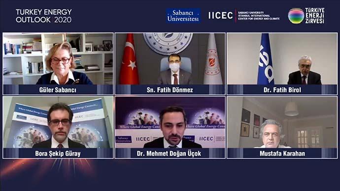 Türkiye enerji zirvesi lansmanı yapıldı