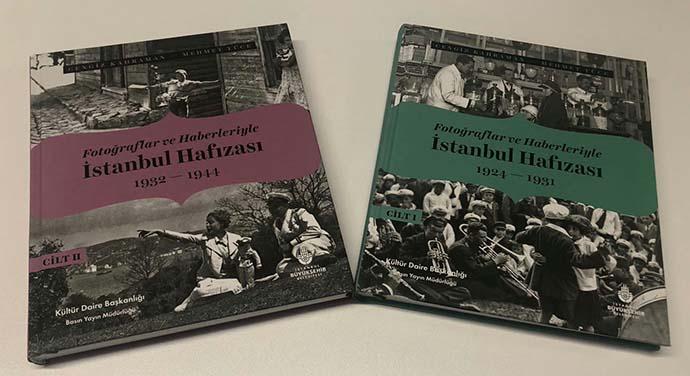 """""""Fotoğraflar ve Haberleriyle İstanbul Hafızası"""" kitabı raflardaki yerini aldı"""
