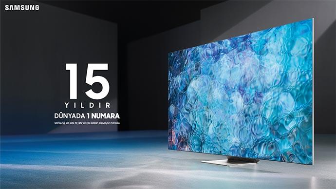 Televizyon üretiminde Samsung dünya lideri olduğunu açıkladı
