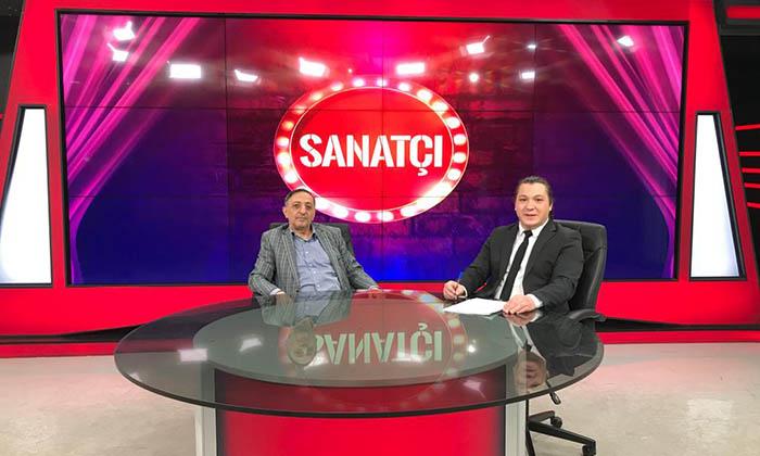 """Raif Akyüz ile """"Sanatçı"""" programının bu haftaki konuğu Mehmet Bulduk oldu"""