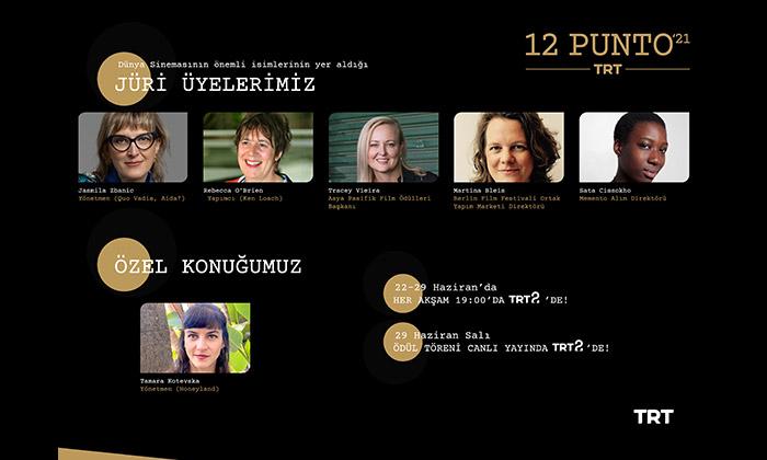 Dünya sinemasının en etkili isimleri 12 Punto'da jüri koltuğuna oturacak